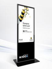 Рекламная видеостойка WJBOX WIFI 55